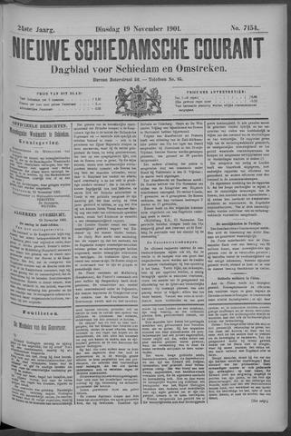 Nieuwe Schiedamsche Courant 1901-11-19
