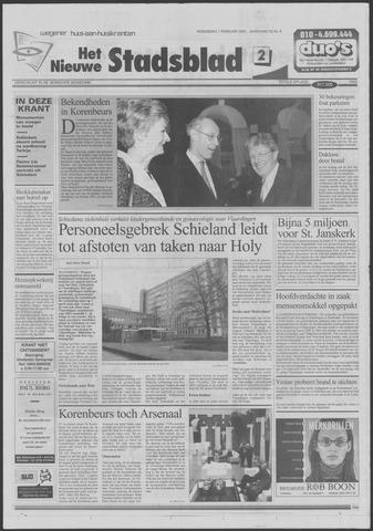 Het Nieuwe Stadsblad 2001-02-07