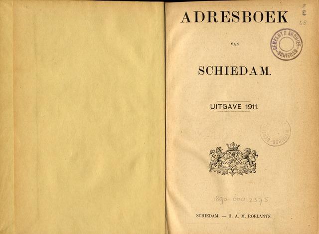 Adresboeken 1911