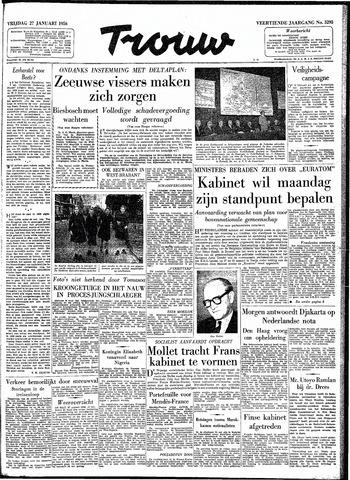 Trouw / De Rotterdammer 1956-01-27