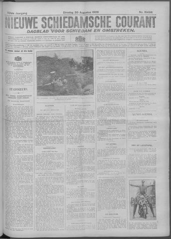 Nieuwe Schiedamsche Courant 1929-08-20