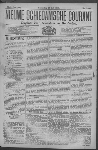 Nieuwe Schiedamsche Courant 1909-07-14