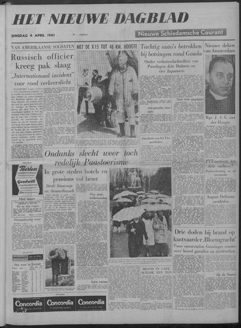 Nieuwe Schiedamsche Courant 1961-04-04