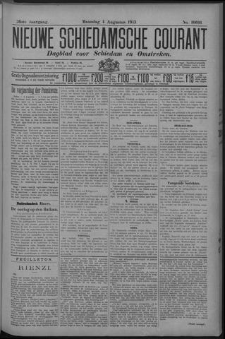Nieuwe Schiedamsche Courant 1913-08-04