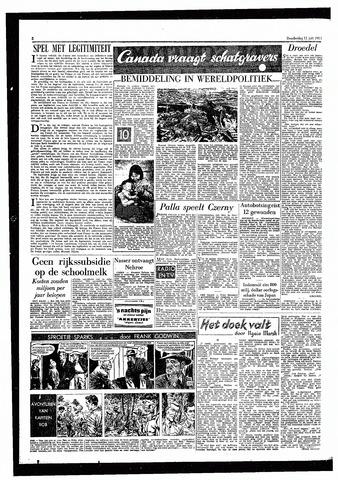 Rotterdamsch Parool / De Schiedammer 1957-07-11