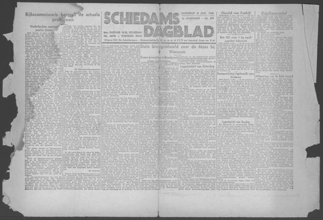 Schiedamsch Dagblad 1945-01-08