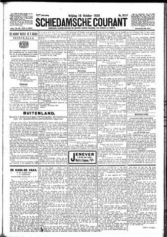 Schiedamsche Courant 1929-10-18
