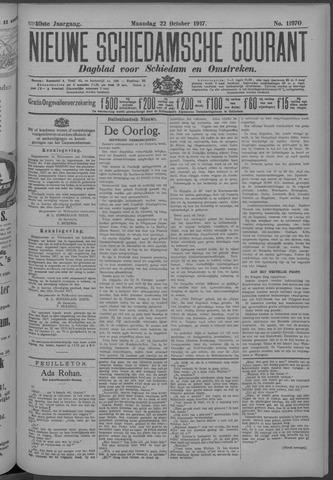 Nieuwe Schiedamsche Courant 1917-10-22