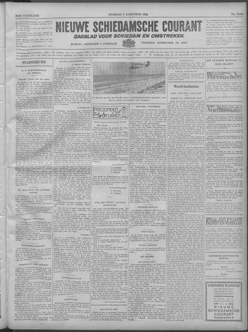 Nieuwe Schiedamsche Courant 1932-08-02