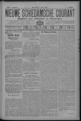 Nieuwe Schiedamsche Courant 1913-06-07