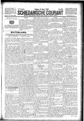 Schiedamsche Courant 1929-04-19