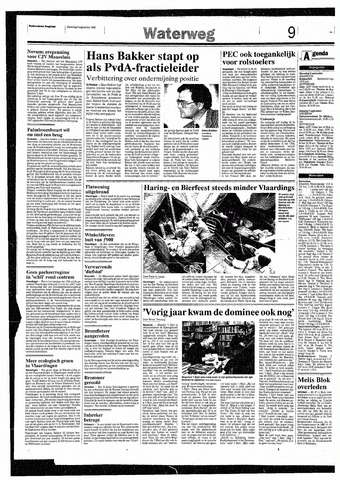 Rotterdamsch Nieuwsblad / Schiedamsche Courant / Rotterdams Dagblad / Waterweg / Algemeen Dagblad 1993-09-06