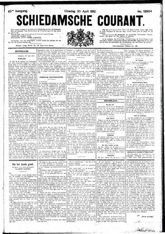 Schiedamsche Courant 1912-04-30
