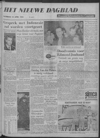 Nieuwe Schiedamsche Courant 1962-04-14