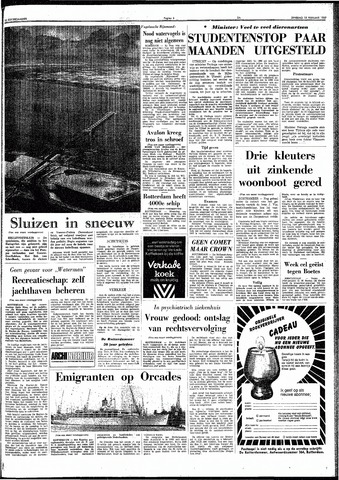 Trouw / De Rotterdammer 1969-02-18