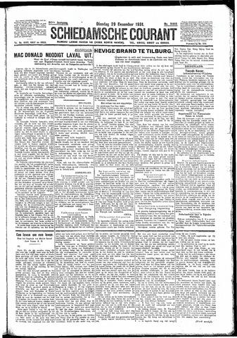 Schiedamsche Courant 1931-12-29
