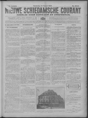 Nieuwe Schiedamsche Courant 1929-02-21