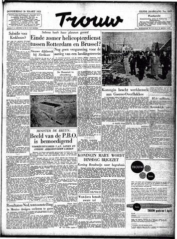 Trouw / De Rotterdammer 1953-03-26
