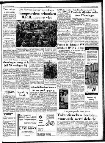 Trouw / De Rotterdammer 1962-08-13