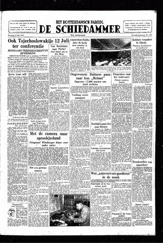 Rotterdamsch Parool / De Schiedammer 1947-07-08