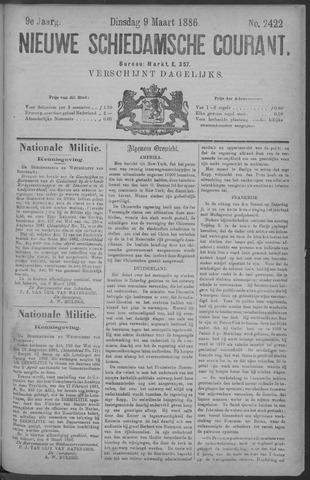 Nieuwe Schiedamsche Courant 1886-03-09