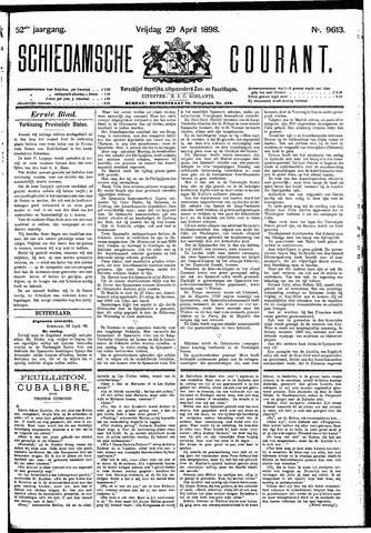 Schiedamsche Courant 1898-04-29