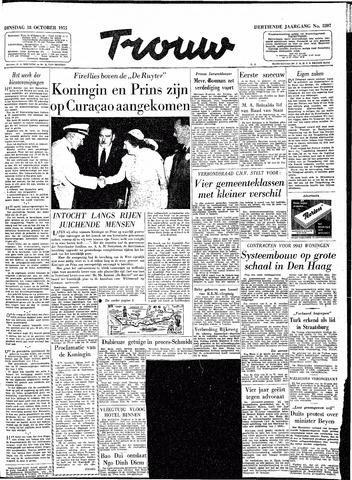 Trouw / De Rotterdammer 1955-10-18