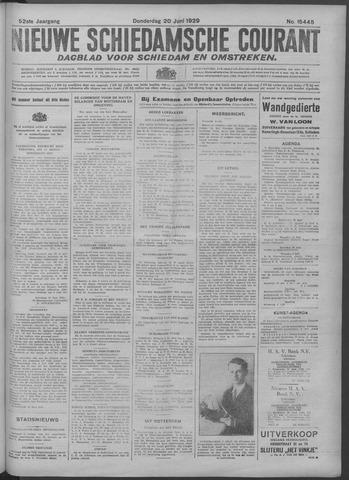Nieuwe Schiedamsche Courant 1929-06-20