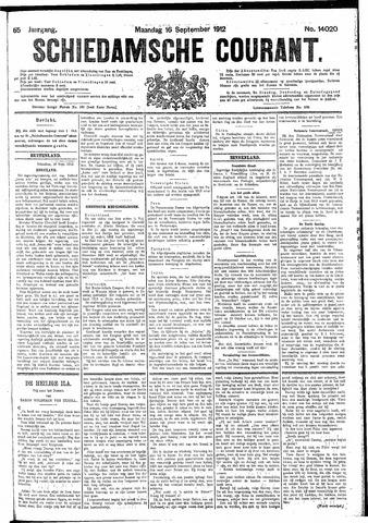 Schiedamsche Courant 1912-09-16