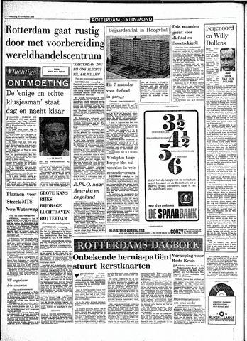 Rotterdamsch Parool / De Schiedammer 1968-11-20