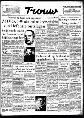 Trouw / De Rotterdammer 1957-10-28