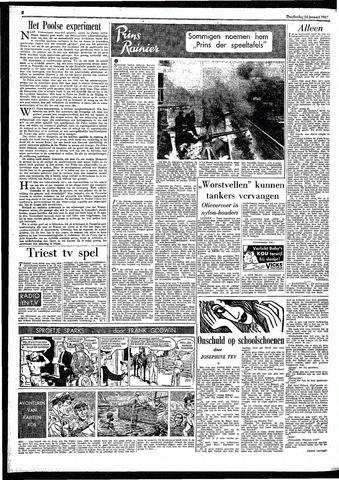 Rotterdamsch Parool / De Schiedammer 1957-01-24