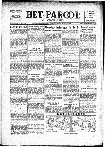 Rotterdamsch Parool / De Schiedammer 1945-05-31