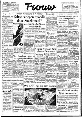 Trouw / De Rotterdammer 1957-04-13