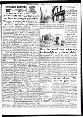 Rotterdamsch Nieuwsblad / Schiedamsche Courant / Rotterdams Dagblad / Waterweg / Algemeen Dagblad 1964-01-25