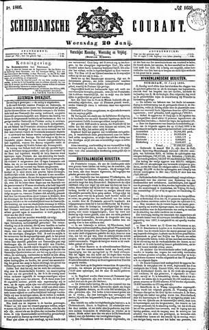 Schiedamsche Courant 1866-06-20