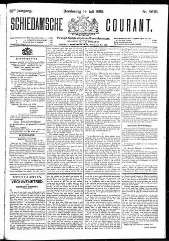 Schiedamsche Courant 1898-07-14