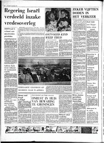 Rotterdamsch Parool / De Schiedammer 1970-11-09