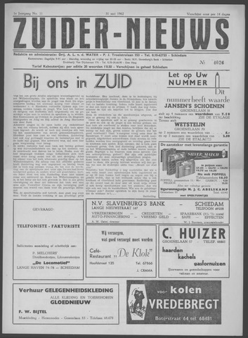 Zuider Nieuws 1962-05-31