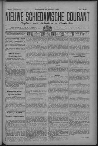 Nieuwe Schiedamsche Courant 1913-10-30
