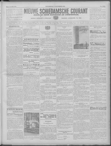 Nieuwe Schiedamsche Courant 1933-11-02