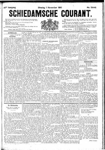 Schiedamsche Courant 1910-11-01