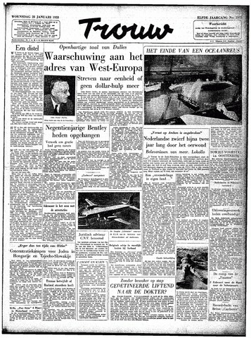 Trouw / De Rotterdammer 1953-01-28