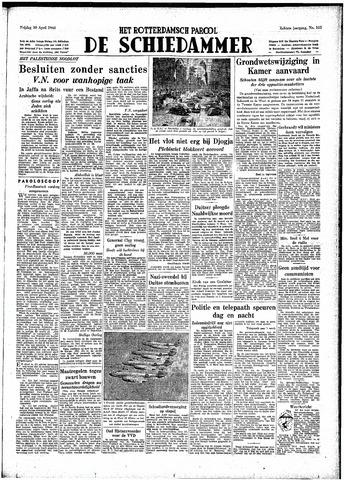 Rotterdamsch Parool / De Schiedammer 1948-04-30