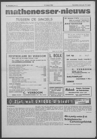 Mathenesser Nieuws 1964-03-12