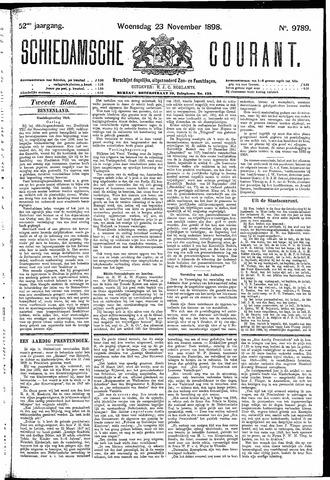 Schiedamsche Courant 1898-11-23