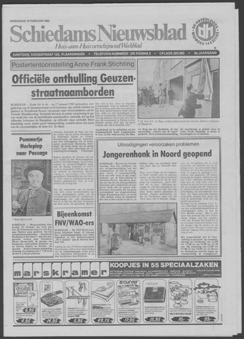 Schiedams Nieuwsblad 1983-02-16