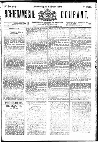 Schiedamsche Courant 1898-02-16