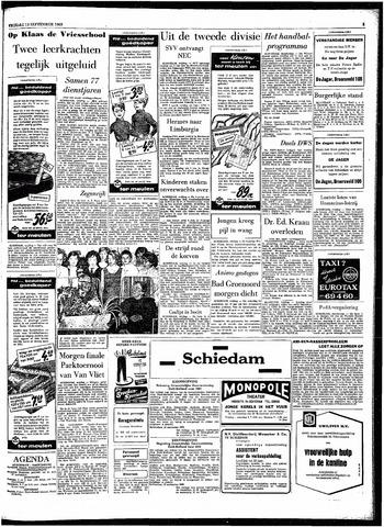 Rotterdamsch Parool / De Schiedammer 1963-09-13