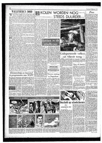 Rotterdamsch Parool / De Schiedammer 1957-02-12